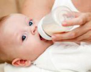 искусственное вскармливание грудных детей