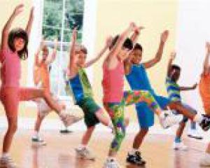 Детская спортивная гимнастика
