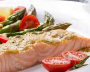 рыба блюдо помидоры
